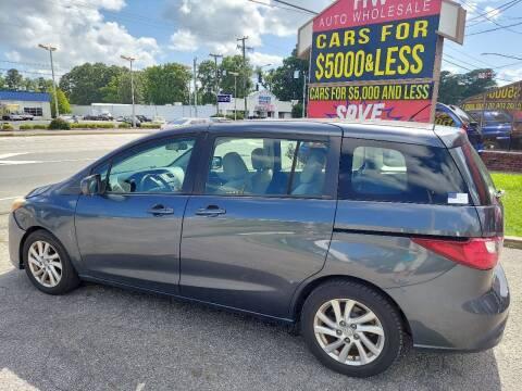 2012 Mazda MAZDA5 for sale at HW Auto Wholesale in Norfolk VA