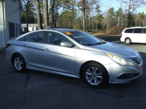 2014 Hyundai Sonata for sale at DUVAL AUTO SALES in Turner ME