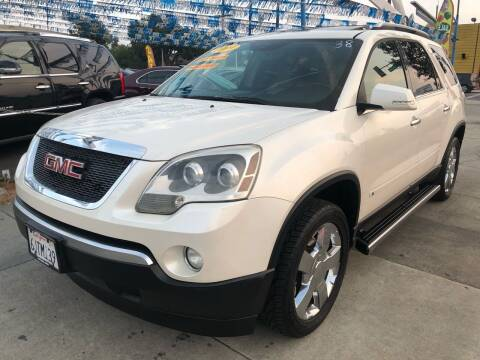 2009 GMC Acadia for sale at Plaza Auto Sales in Los Angeles CA