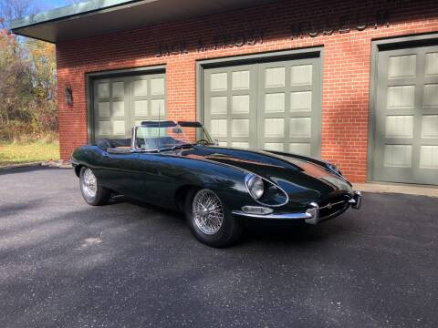 1967 Jaguar E-Type for sale at Jack Frost Auto Museum in Washington MI