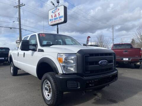 2015 Ford F-250 Super Duty for sale at S&S Best Auto Sales LLC in Auburn WA