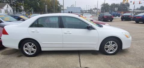 2007 Honda Accord for sale at Tims Auto Sales in Rocky Mount NC