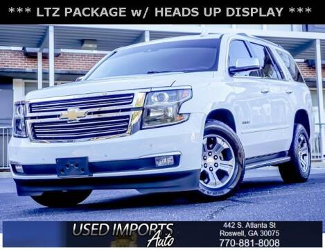 2016 Chevrolet Tahoe for sale at Used Imports Auto in Roswell GA