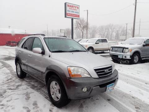 2008 Kia Sorento for sale at Marty's Auto Sales in Savage MN