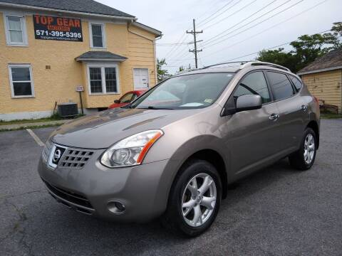 2010 Nissan Rogue for sale at Top Gear Motors in Winchester VA