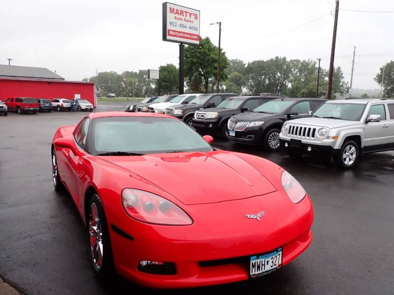 2013 Chevrolet Corvette for sale at Marty's Auto Sales in Savage MN