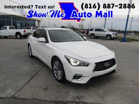 2018 Infiniti Q50 for sale at Show Me Auto Mall in Harrisonville MO