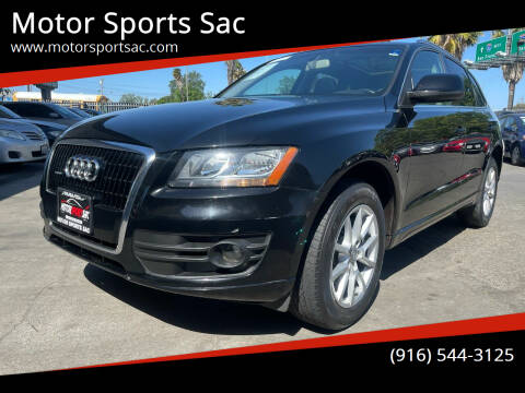 2009 Audi Q5 for sale at Motor Sports Sac in Sacramento CA