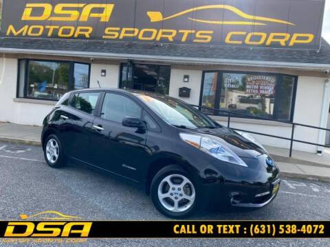 2013 Nissan LEAF for sale at DSA Motor Sports Corp in Commack NY