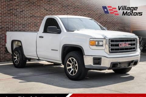2015 GMC Sierra 1500 for sale at Village Motors in Lewisville TX