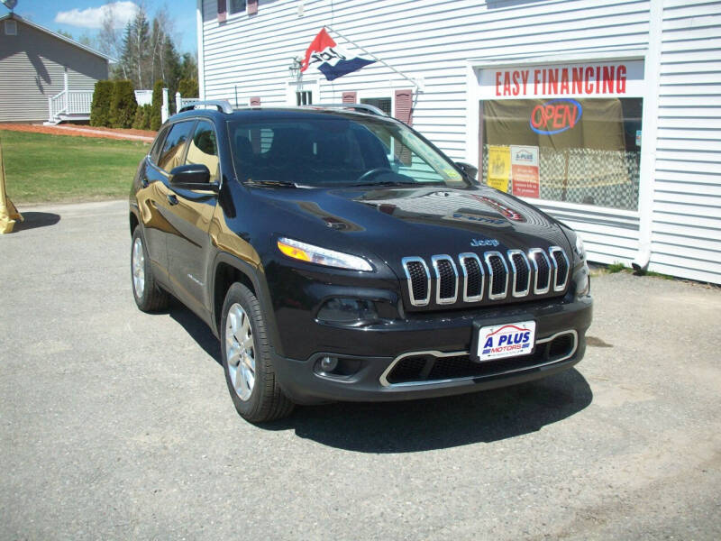 2016 Jeep Cherokee for sale at A-Plus Motors in Alton ME