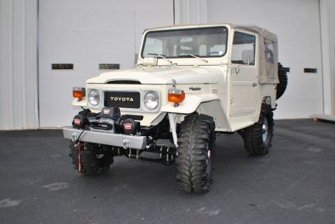 1980 Toyota Land Cruiser for sale at Euro Prestige Imports llc. in Indian Trail NC