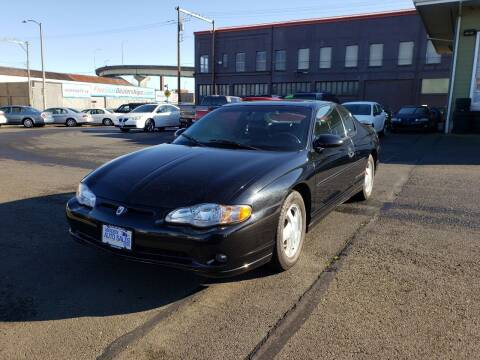 2000 Chevrolet Monte Carlo for sale at Aberdeen Auto Sales in Aberdeen WA