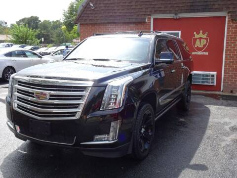 2016 Cadillac Escalade ESV for sale at AP Automotive in Cary NC