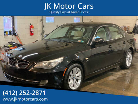 2010 BMW 5 Series for sale at JK Motor Cars in Pittsburgh PA
