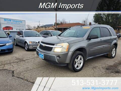 2005 Chevrolet Equinox for sale at MGM Imports in Cincannati OH