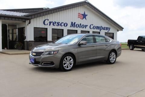 2019 Chevrolet Impala for sale at Cresco Motor Company in Cresco IA