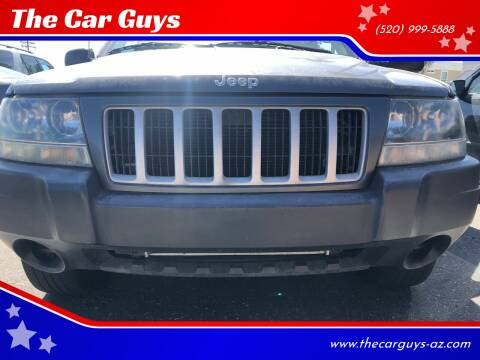 2004 Jeep Grand Cherokee for sale at The Car Guys in Tucson AZ