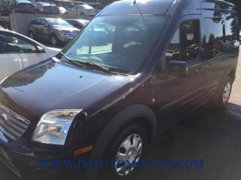 2013 Ford Transit Connect for sale at J & M Automotive in Naugatuck CT