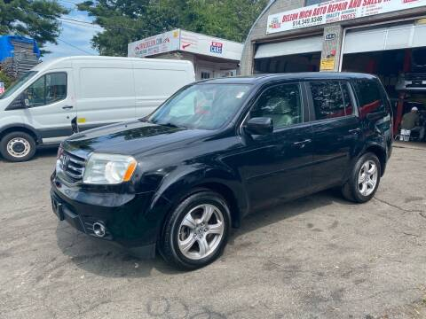 2013 Honda Pilot for sale at White River Auto Sales in New Rochelle NY