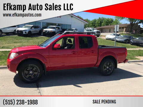 2011 Nissan Frontier for sale at Efkamp Auto Sales LLC in Des Moines IA