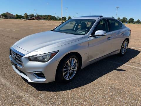 2018 Infiniti Q50 for sale at The Auto Toy Store in Robinsonville MS