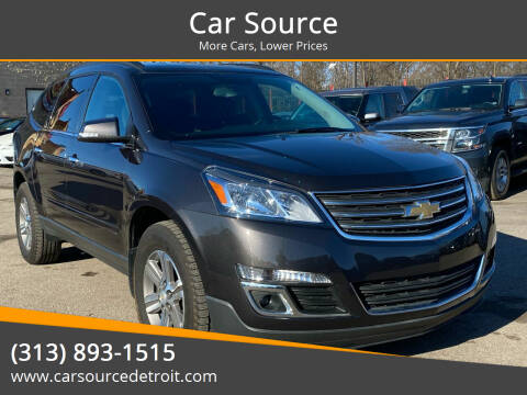 2017 Chevrolet Traverse for sale at Car Source in Detroit MI