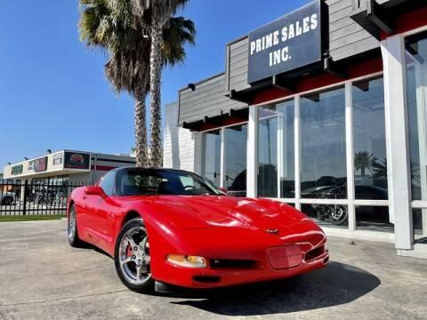 2004 Chevrolet Corvette for sale at Prime Sales in Huntington Beach CA