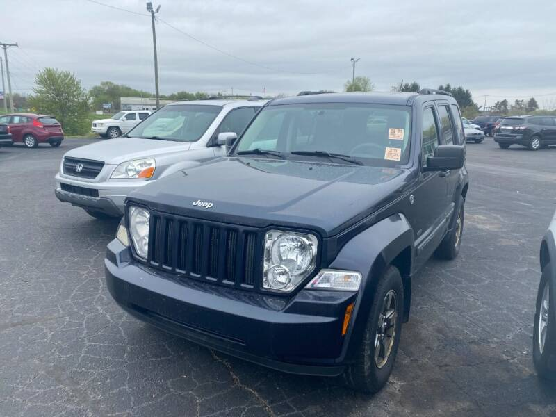 2008 Jeep Liberty for sale at Pine Auto Sales in Paw Paw MI