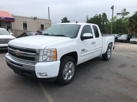 2009 Chevrolet Silverado 1500 for sale at Saipan Auto Sales in Houston TX
