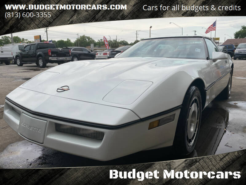 1984 Chevrolet Corvette for sale at Budget Motorcars in Tampa FL