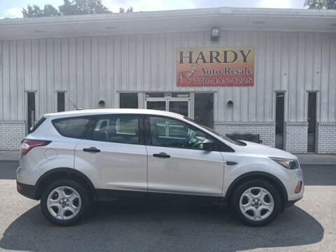 2018 Ford Escape for sale at Hardy Auto Resales in Dallas GA