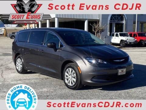 2020 Chrysler Voyager for sale at SCOTT EVANS CHRYSLER DODGE in Carrollton GA