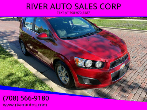 2016 Chevrolet Sonic for sale at RIVER AUTO SALES CORP in Maywood IL