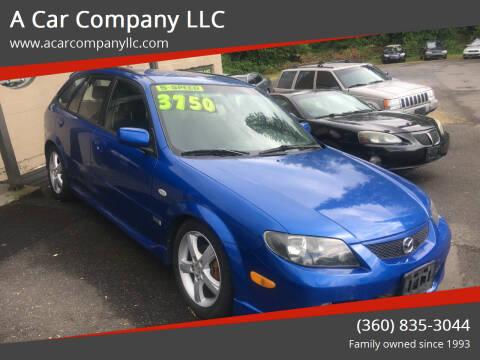 2003 Mazda Protege5 for sale at A Car Company LLC in Washougal WA