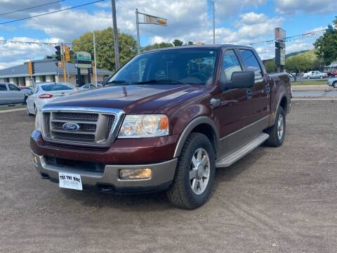 2005 Ford F-150 for sale at Toy Box Auto Sales LLC in La Crosse WI