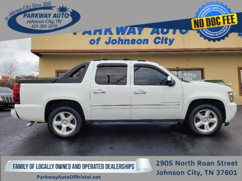 2012 Chevrolet Avalanche for sale at PARKWAY AUTO SALES OF BRISTOL - PARKWAY AUTO JOHNSON CITY in Johnson City TN
