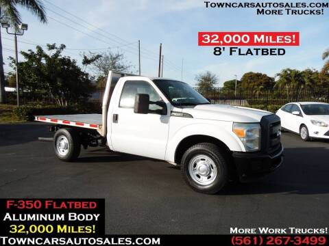 2011 Ford F-350 for sale at Town Cars Auto Sales in West Palm Beach FL