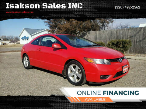 2008 Honda Civic for sale at Isakson Sales INC in Waite Park MN