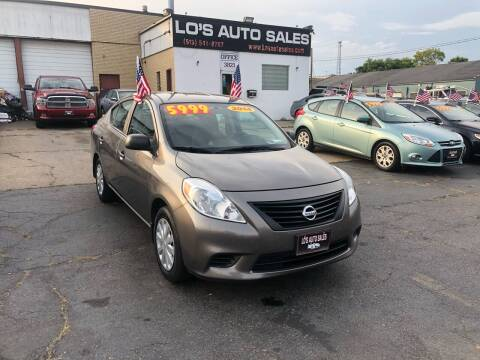 2014 Nissan Versa for sale at Lo's Auto Sales in Cincinnati OH