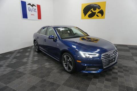 2017 Audi A4 for sale at Carousel Auto Group in Iowa City IA