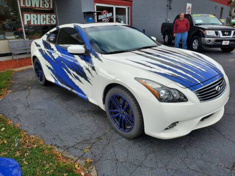 2014 Infiniti Q60 Coupe for sale at Stach Auto in Janesville WI
