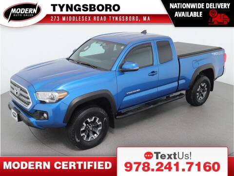 2017 Toyota Tacoma for sale at Modern Auto Sales in Tyngsboro MA