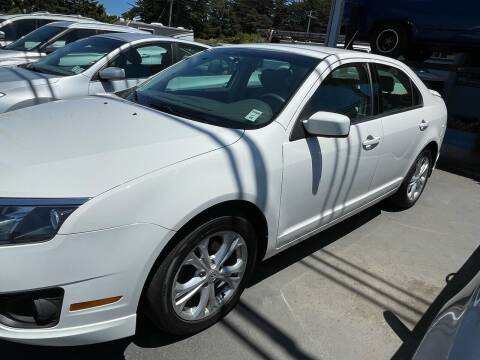2012 Ford Fusion for sale at HARE CREEK AUTOMOTIVE in Fort Bragg CA