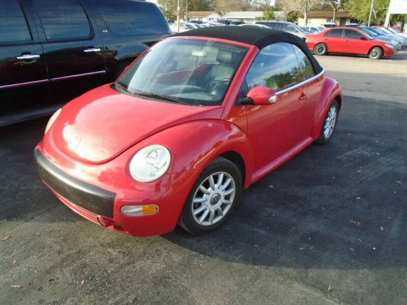 2004 Volkswagen New Beetle Convertible for sale at Bargain Auto Mart Inc. in Kenneth City FL