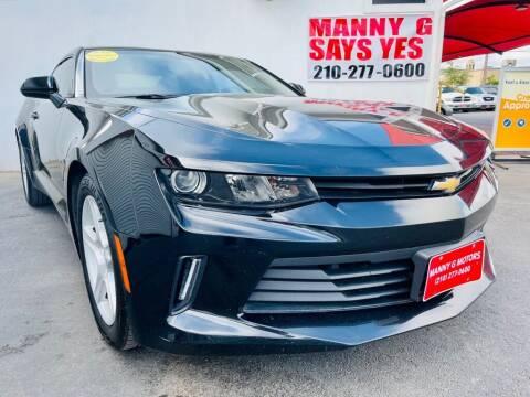 2017 Chevrolet Camaro for sale at Manny G Motors in San Antonio TX