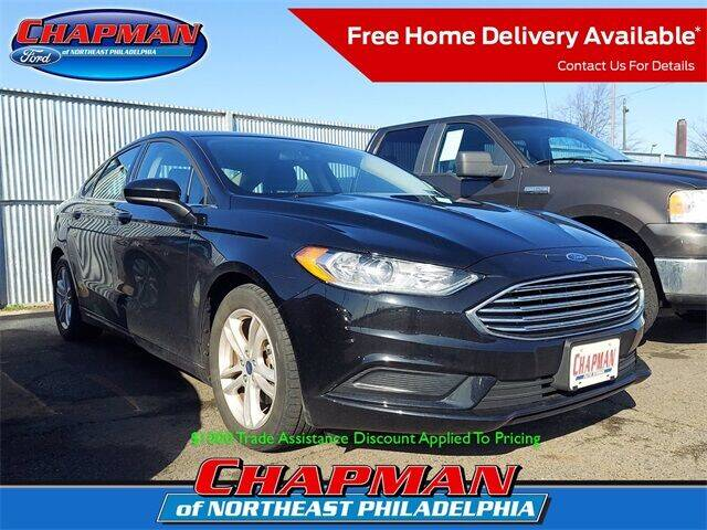 2018 Ford Fusion for sale at CHAPMAN FORD NORTHEAST PHILADELPHIA in Philadelphia PA