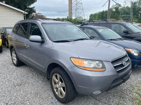 2008 Hyundai Santa Fe for sale at Trocci's Auto Sales in West Pittsburg PA