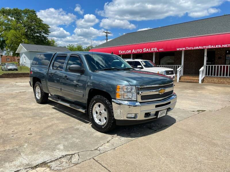 2013 Chevrolet Silverado 1500 for sale at Taylor Auto Sales Inc in Lyman SC