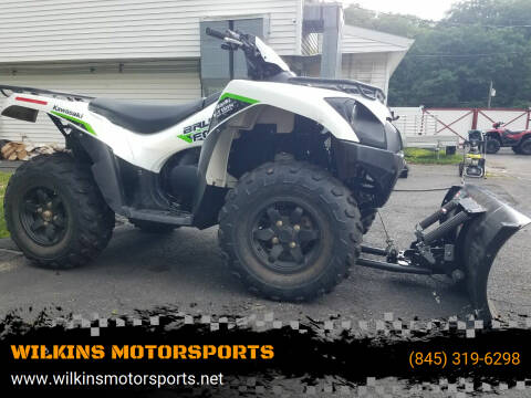2019 Kawasaki BruteForce 750 EPS for sale at WILKINS MOTORSPORTS in Brewster NY